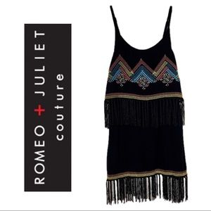 Romeo & Juliet Couture Beach   Fringed Coverup
